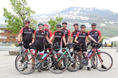 Foto Alpe dHuZes team Klarenbeek 2018